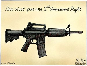 Ceci n'est pas une 2nd Amendment Right