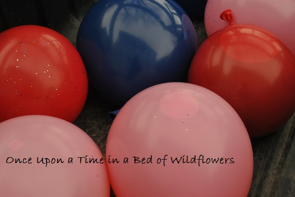 Ice Marbles -- balloons | Once Upon a Time in a Bed of Wildflowers