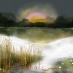 digital painting by Marybeth Bradbury -- visit her here: www.embeestudios.com/