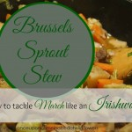 Brussels Sprout Stew (or How to Tackle March like an Irishwoman)