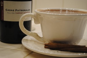 Decadent Hot Chocolate with Red Wine