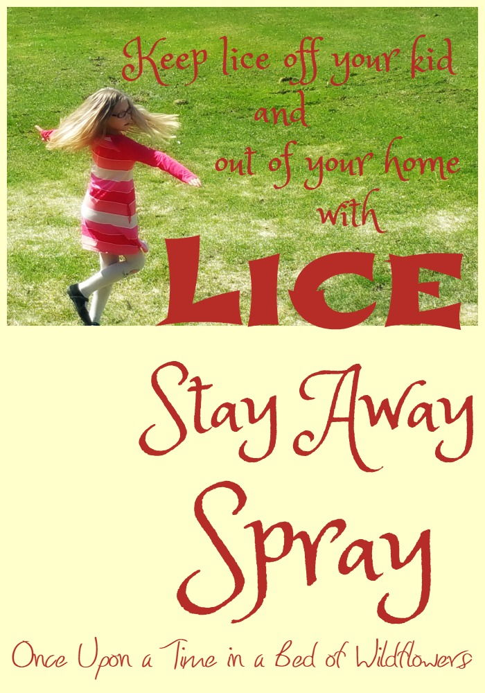 Keep lice off your kid and out of your home with Lice Stay Away Spray