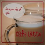 Cafe Latte | Once Upon a Time in a Bed of Wildflowers