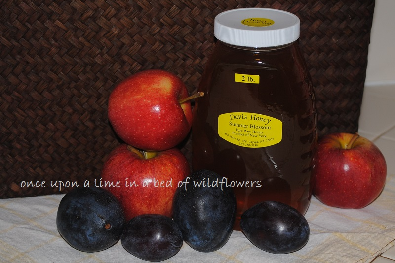 Apples, pruned, and honey | Once Upon a Time in a Bed of Wildflowers