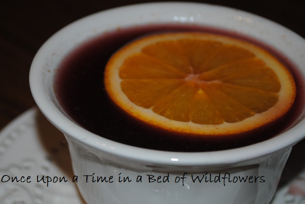 Spiced Wine | Once Upon a Time in a Bed of Wildflowers
