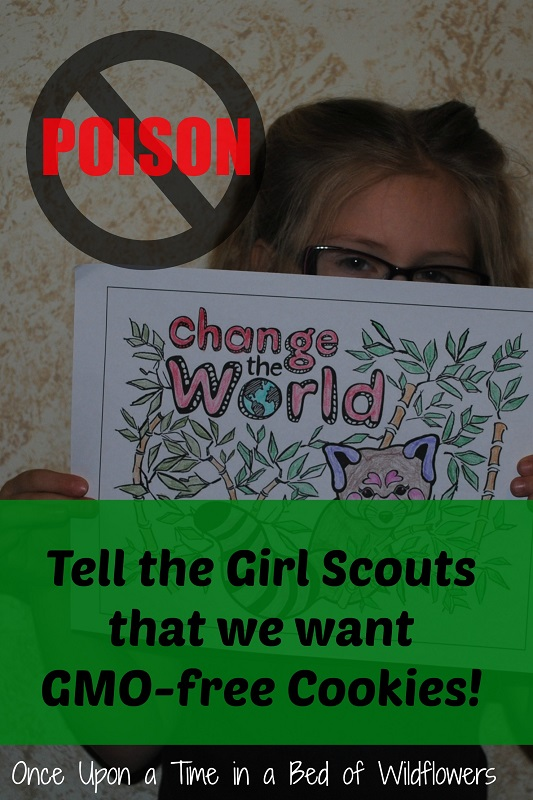 "Tell the Girl Scout to get ""Poison"" out of their Cookies!"