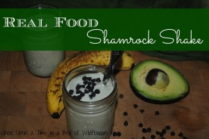 Shamrock Shake (Real Food, Vegan) | Once Upon a Time in a Bed of Wildflowers