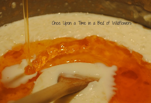 Rice pudding -- honey / Once Upon a Time in a Bed of Wildflowers