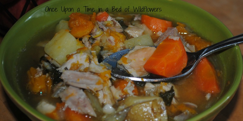 Mama's Chicken Soup // Once Upon a Time in a Bed of Wildflowers