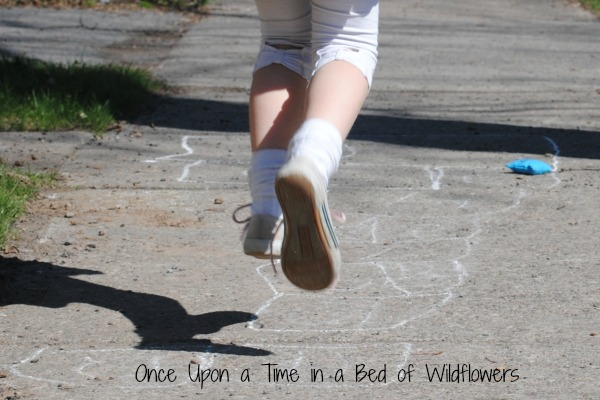 Hopscotch // Once Upon a Time in a Bed of Wildflowers