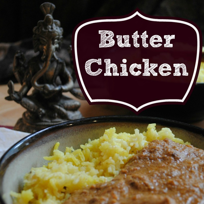 Butter Chicken -- sq