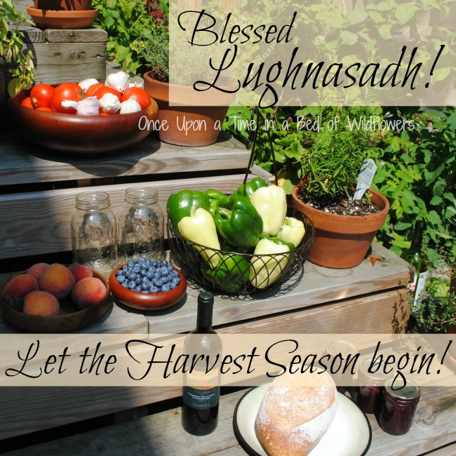 Lughnasadh // Once Upon a Time in a Bed of Wildflowers
