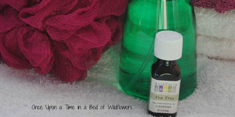 make your own shampoo and body wash // Once Upon a Time in a Bed of Wildflowers