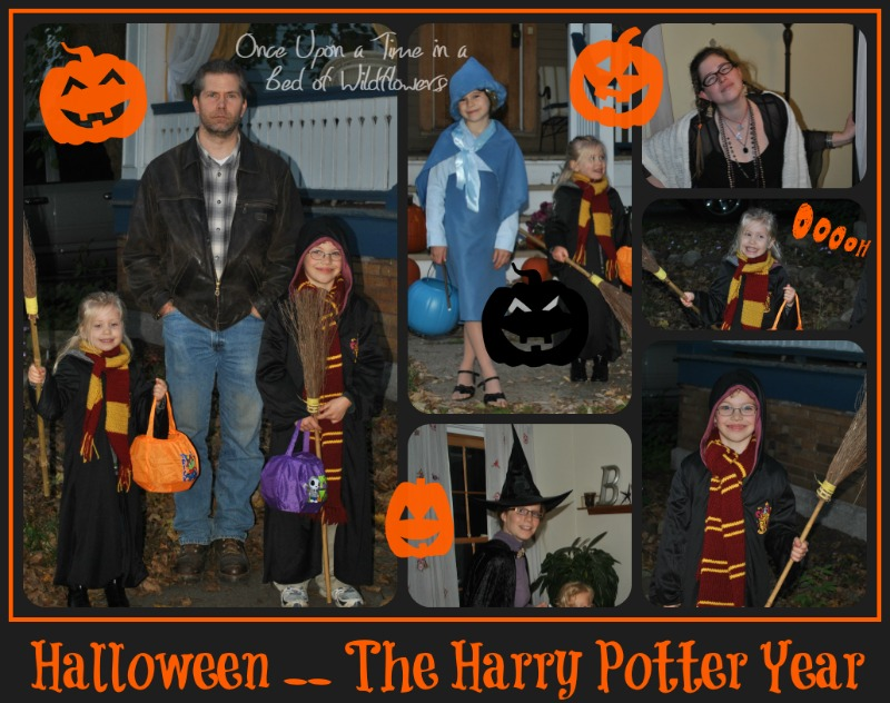 My Week on Wednesday // Harry Potter Halloween // Once Upon a Time in a Bed of WIldflowers