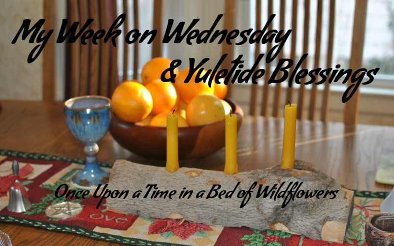 Welcome to My Week on Wednesday! Yuletide Blessings from Once Upon a Time in a Bed of Wildflowers
