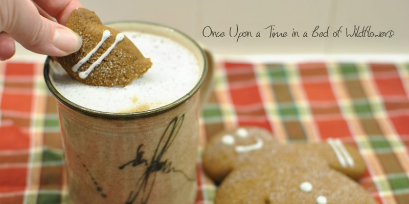 Gingerbread Cookie Latte // Once Upon a Time in a Bed of Wildflowers