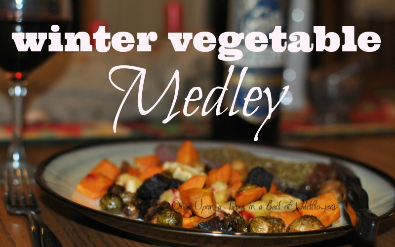 Winter Vegetable Medley. An excellent roasted vegetable dish that is easy, delicious, and perfect for Yule. Via Once Upon a Time in a Bed of Wildflowers