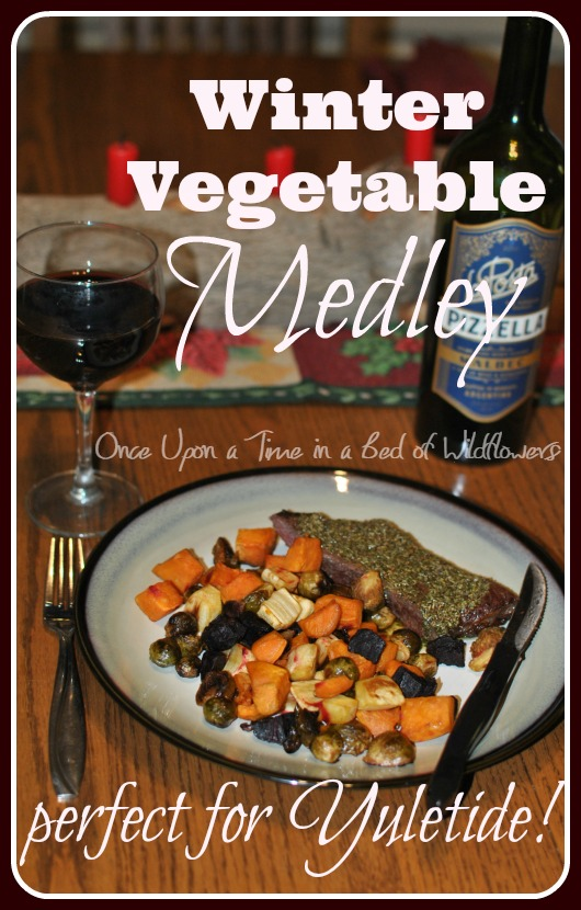 Winter Vegetable Medley. Perfect for Yule! via Once Upon a Time in a Bed of Wildflowers