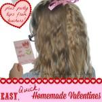 Homemade Valentines sq