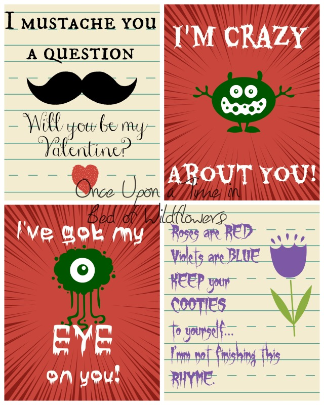 Homemade Valentines for Older Kids // Once Upon a Time in a Bed of Wildflowers