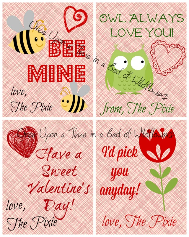 Sample Valentines from PicMonkey