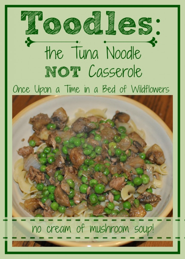Tuna Noodle NOT Casserole PIN