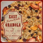 Easy Homemade Granola sq