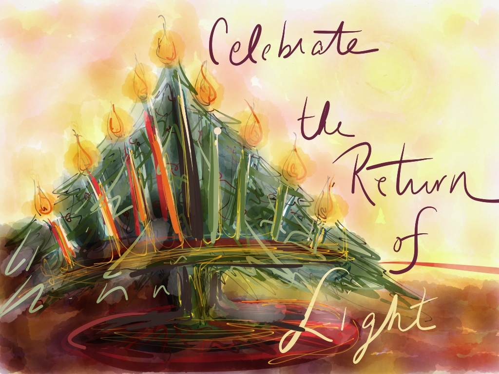 Celebrate the Return of Light by Marybeth Bradbury visit embeestudios.com for more!
