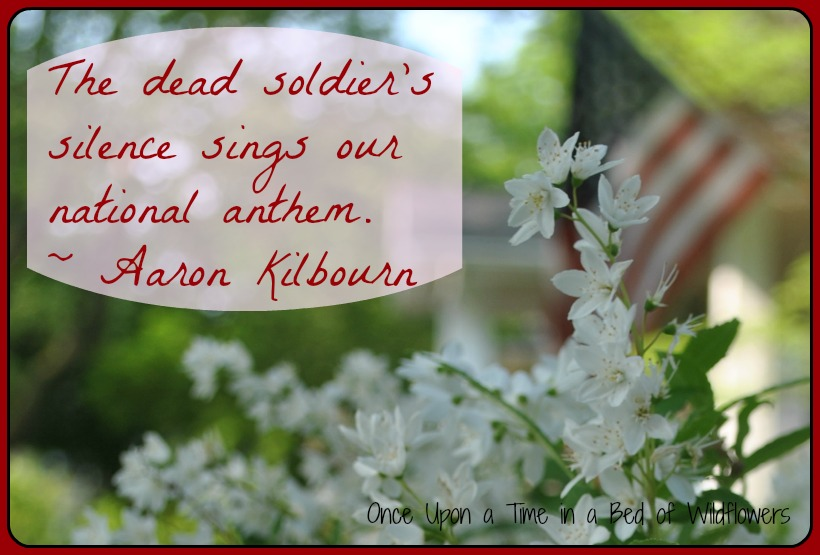 Quote of the Week / Once Upon a Time in a Bed of Wildflowers