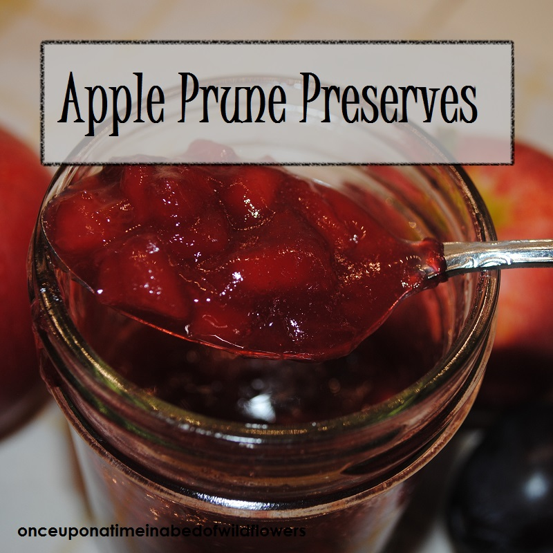 Apple Prune Preserves | Once Upon a Time in a Bed of Wildflowers