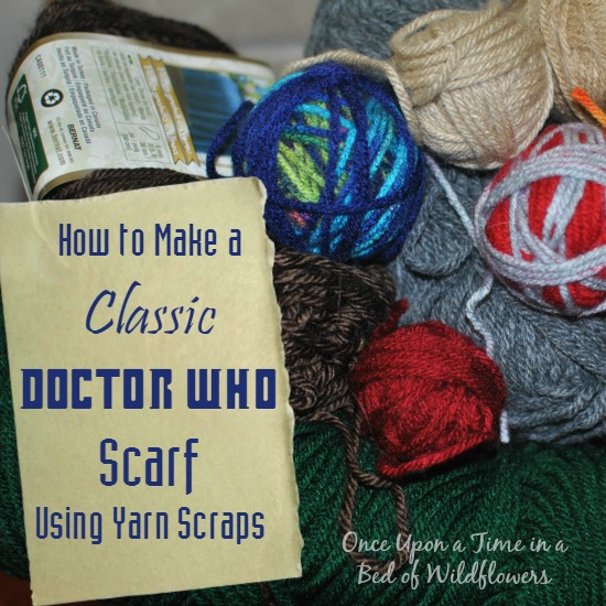 Dr Who Scarf SQ